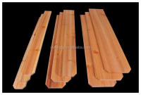 Cedar fence dog ear pickets