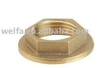 brass connector pipe fitting brass nut