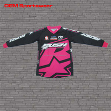 Professional OEM custom high quality cheap cycling BMX jersey