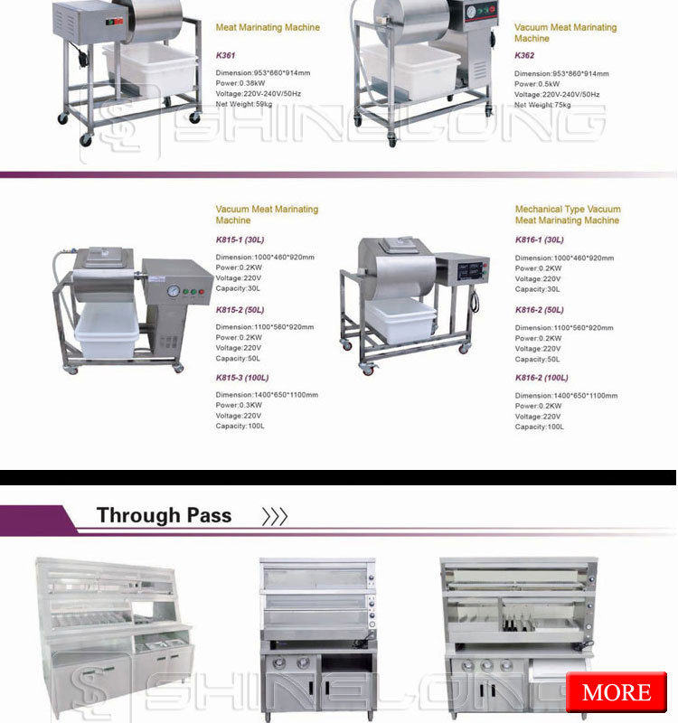 Commercial Used Fast Food Restaurant Kitchen Equipment