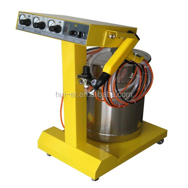 Electrostatic Powder Coating Equipment For Metal,Steel,Aluminium,Car Parts