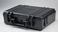 China factory waterproof hard ABS plastic carry case/tool box /gun case