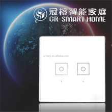 Super Quality luxury style magic white touch pad switches