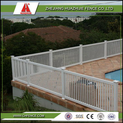 pvc plastic safety fence pool used