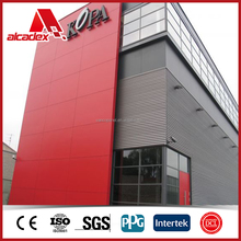 Light weight, fire rated and customized colour PVDF / PE coating aluminium composite panel for exterior cladding