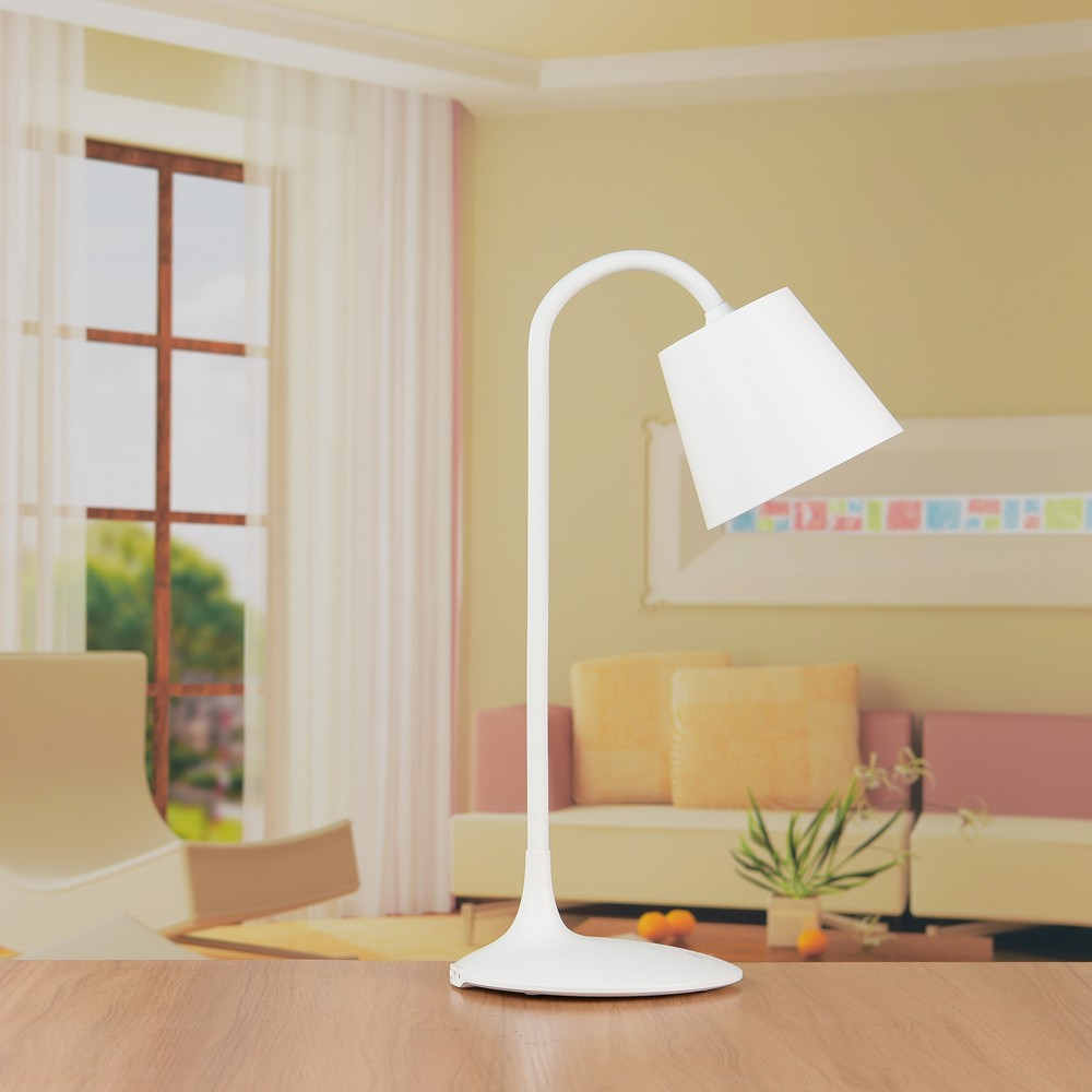 Classic style bedroom disk led table lamps for home