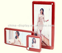 3 layers acrylic red photo picture frame