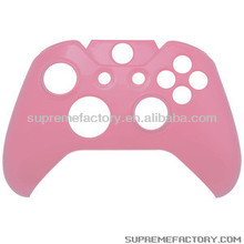 For Xbox One Clear Pink Wireless Controller Protective Front Cover Shell