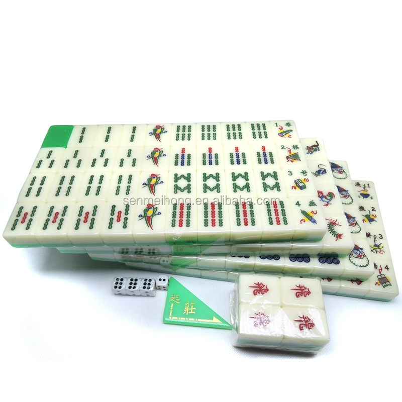 Singapore Mahjong Set Custom Crytals Singapore Mahjong Set (Custom Logo)