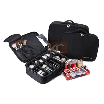 Small lightweight Travelling cosmetic kit brush bag makeup bag vogue, nylon makeup bag holder