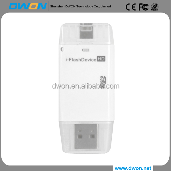 For iPhone 6 6s Plus 5 5S Pen drive HD memory stick Dual purpose mobile OTG Micro USB Flash Drive 16GB 32GB 64GB PENDRIVE