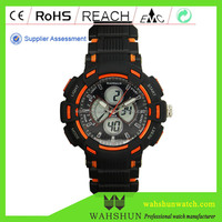 Made In China High Quality Wah Shun 5 BAR Water Resistant ODM OEM Quartz Digital Wholesale China Watch
