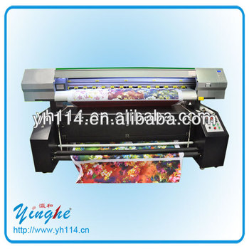 1.8m large format best dye sublimation printer