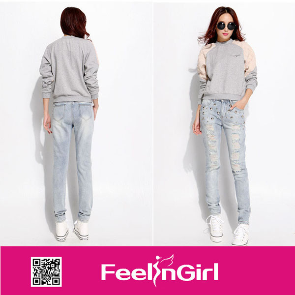 White beauty no moq alibaba sexy jeans wholesale price