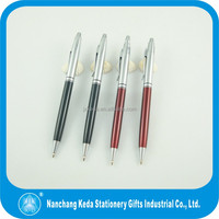 new design click ball pen gift items for school office promotional resale
