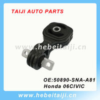 rubber engine mount for honda civic 50890-SNA-A81 50890-SNA-A82