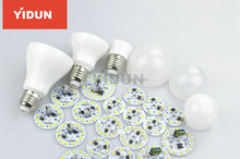 AAAAA led bulb housing parts manufactur+led bulb housing aluminum7W 9W 12W 18w 30W+led bulb light housing E27 b22