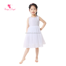 baby frock designs white children Little Girls Party Wear Western Dress