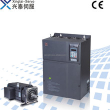 Servo motor system for plastic machine