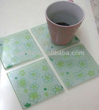 Square acrylic table mat coaster cup pad