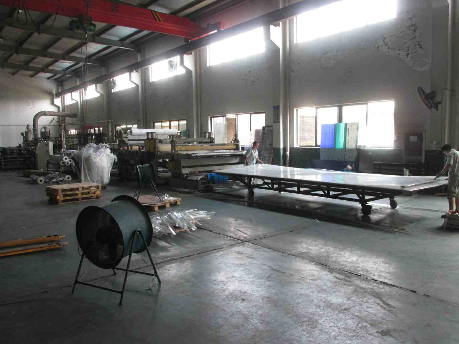 Polycarbonate Sheet Production 1