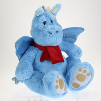 blue dinosaur battery operated plush toys
