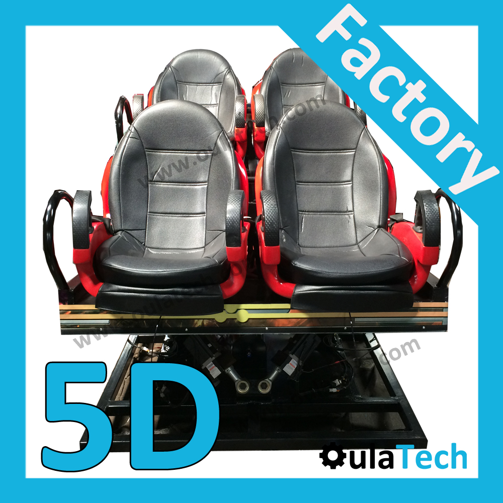 New XD Cinema 6 DOF Electric Dynamic Seat Factory with 4 Chairs Luxury