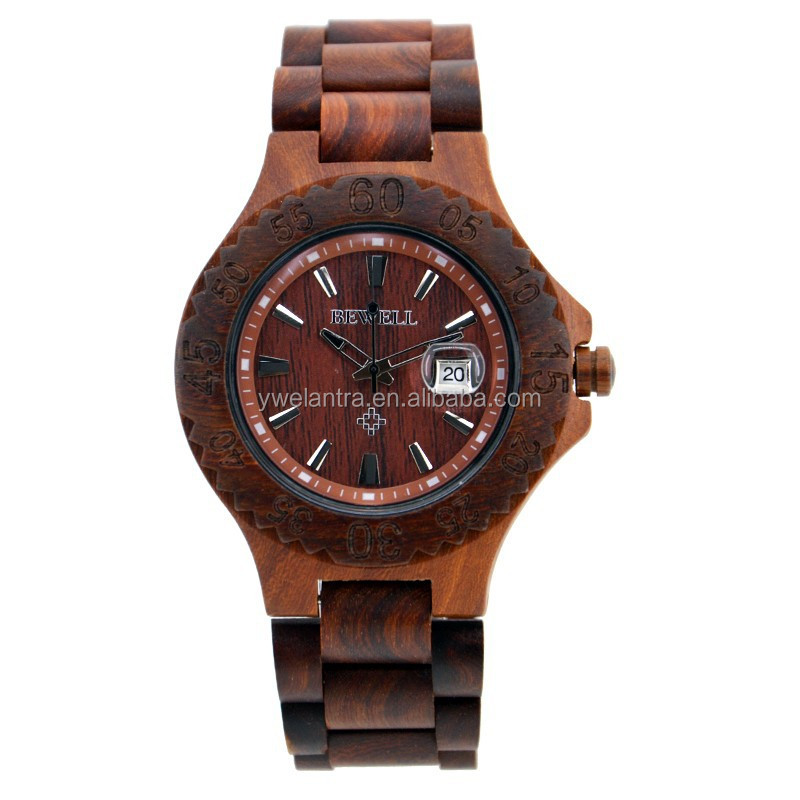 Wholesale 2015 digital wooden watch and eco-friendly&100%natural wood wristwatch