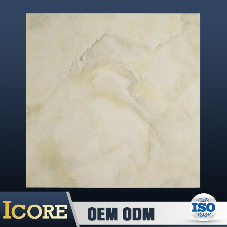 China Foshan White Marble Outdoor Vitrified Tiles Crystal Double Loading