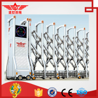stainless steel single or double track electronic monitoring gate for government-J1515