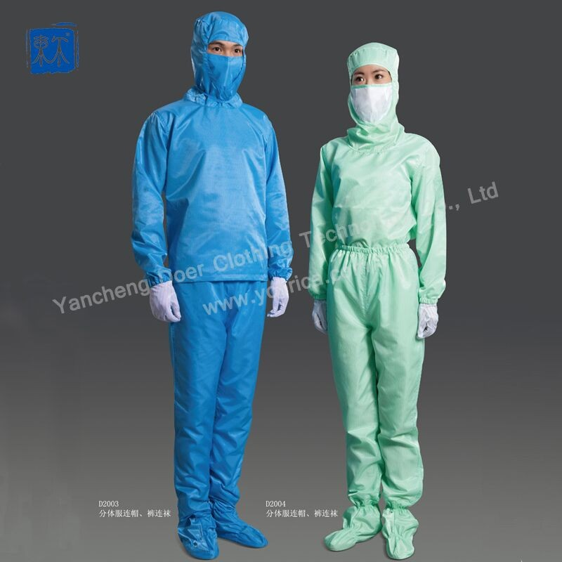 ESD coveralls workwear for cleanroon