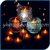Floating led tea light candle,plastic candle light Type and No Handmade Tea Light Candle