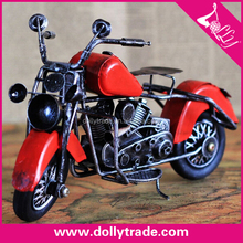 mini handmade metal motorcycle model