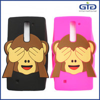 [GGIT] Lovely Monkey Design Silicone Mobile Phone Case for HTC