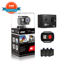 Professional Sport Video cameras wifi sport camera Helmet Camcorder 4k NEW Sport Action Camera
