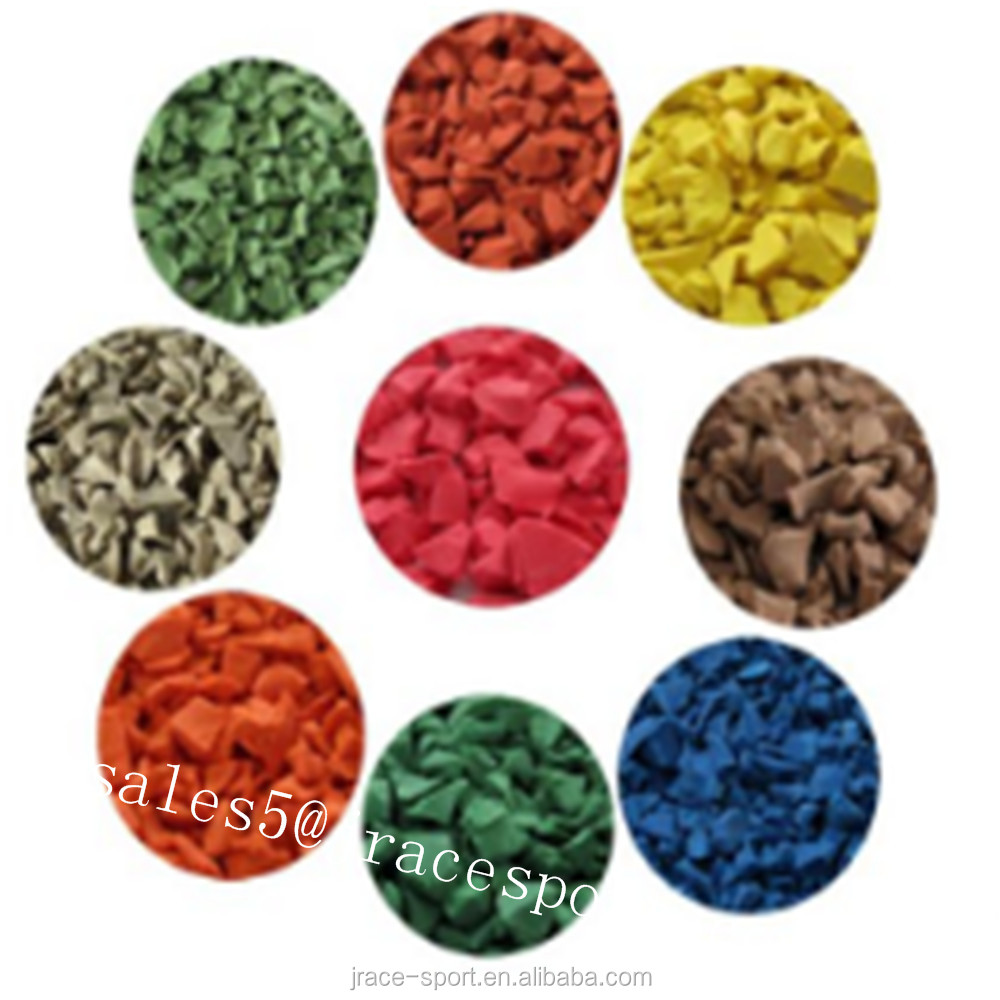 Whosale Factory Direct Supply Colorful Epdm Rubber Mulch For Kids