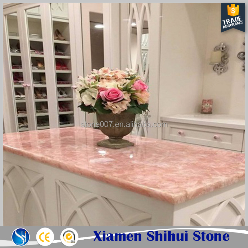 Home Decoration Rose Quartz Table Tops