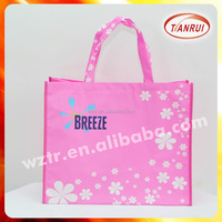100% new material cute adorable reusable matt/glossy laminated non woven bag for many usage