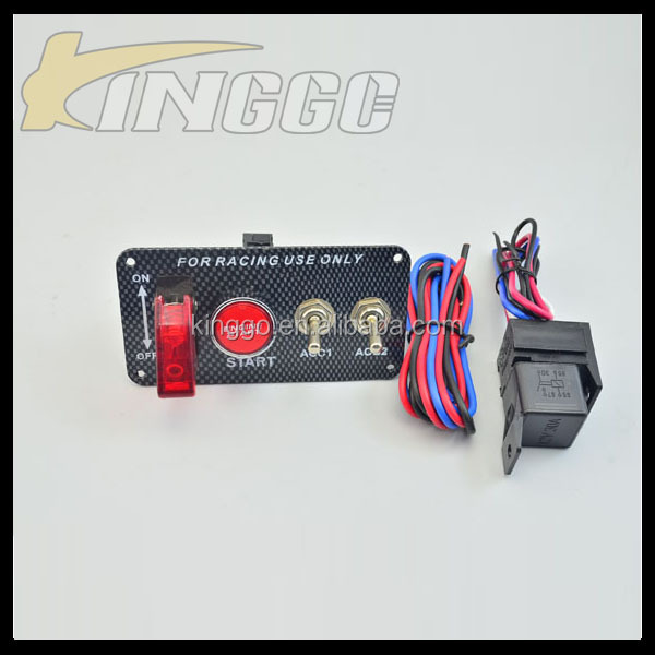 Factory Price Power 2AC Auto Electric Start Engine Switch For Car