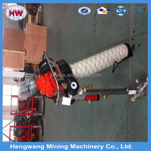 Durable professional ditch and hard MQT series pneumatic vibrating roof bolter/anchor drilling machine for sale