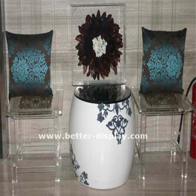 high quality lucite table and chairs