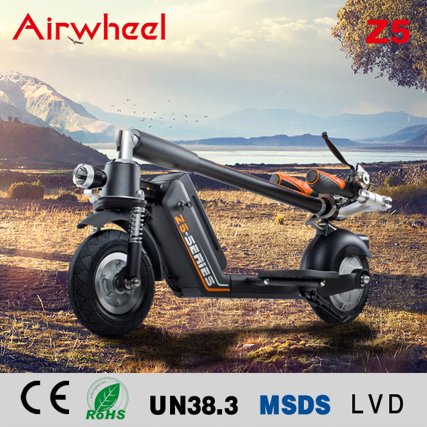 Kick Folding Two Wheels Electric Scooter Airwheel Z5 Black
