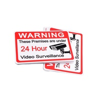 screen print custom self adhesive vinyl safety tactile label warning stickers