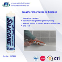 Aristo 300ml Neutral Cure Structural Liquid Waterproof Silicone Sealant