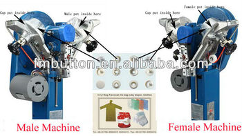 Automatic Snap Fix Machine