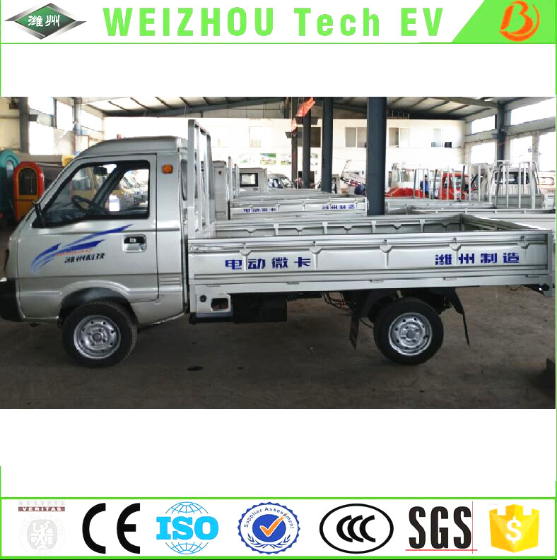 Discount Automobile Electric Pickup Vehicke 4 wheel Electric Cargo Truck Made in China