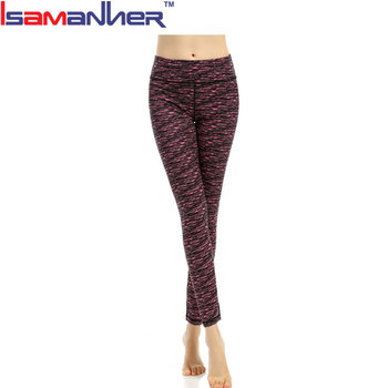 Dry fit comfortable sports wear tight long lady yoga pants