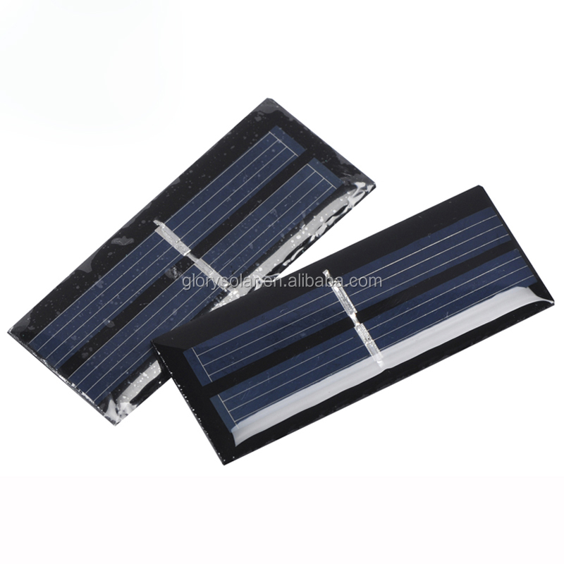0.06W 1V 60mA Customized Small Solar Panel For Toy Gift Led Use Offer Cutomized Solar Panel