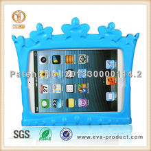 Crown Shape EVA Shockproof Kids High Quality Case for iPad Mini