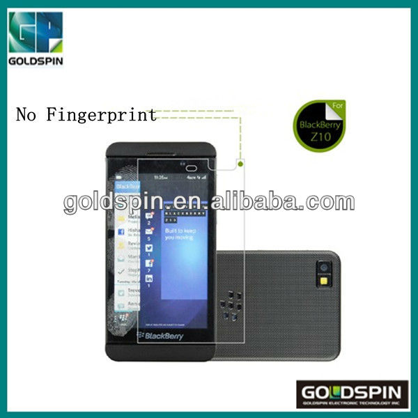 Perfit Fit Clear Anti Fingerprint Screen Protector For Blackberry Z10 Screen Protector